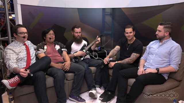 m shadows sits down with gamespot live kinda funny at e3 avenged sevenfold. Black Bedroom Furniture Sets. Home Design Ideas